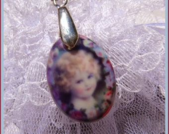 China Doll-Necklace  T 584