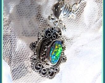 Fire Opal - Necklace  B 6339