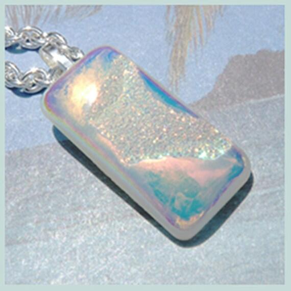 Si Opal Titanium Druzy-Necklace  T 568