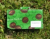 Reusable Snack Bag... Girl Scouts Thin Mint Cookies