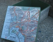 San Diego - Keepsake/Trinket/Gift Box