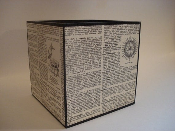 Reserved - The Wonder of Words - Wooden Storage Box