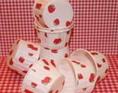 40 STRAWBERRY  Nut / Candy Cups - Cupcake Baking Cups - Birthday, Wedding, Baby Shower