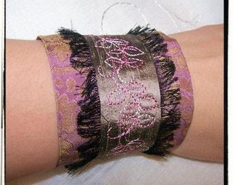 Marie Antionette Victorian Vamp Wrist Cuffs