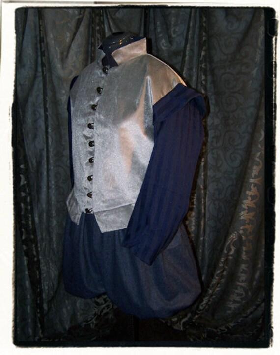 """Eclipse Mens Tudor Renaissance Doublet and Breeches Set Chest 50"""""""