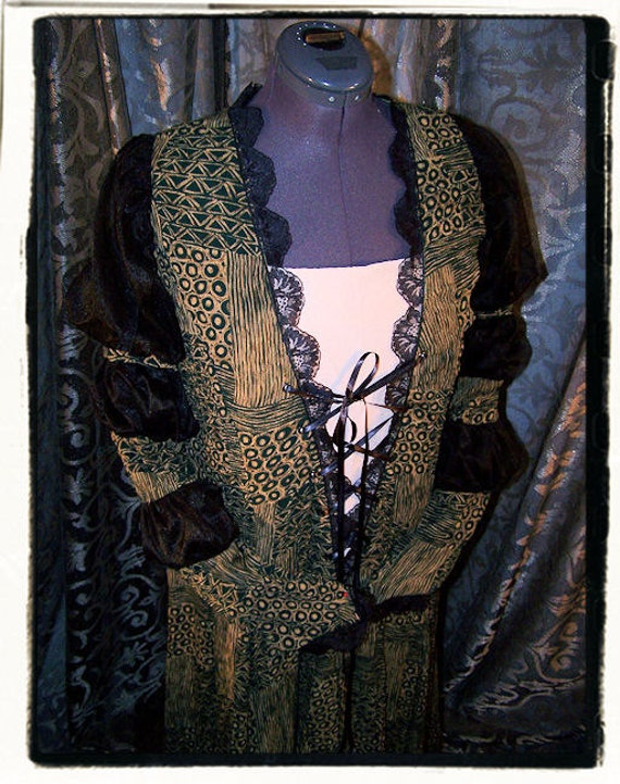 Witches Pajamas Renaissance Dress Bust 49""