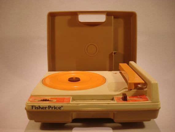 fisher price record player. Black Bedroom Furniture Sets. Home Design Ideas