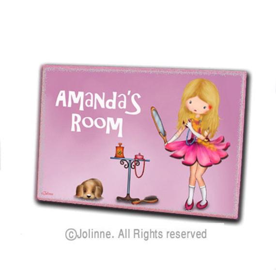 Children housewares room decor door hanger , personalized name sign , nursery welcome pl
