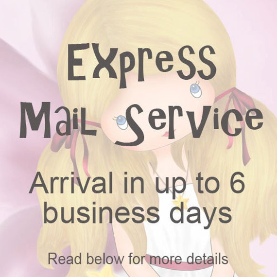Express shipping for all shop items - Arrival in up to 6 business days to all countries