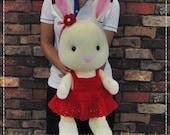 28Inches Rabbit - PDF crochet pattern