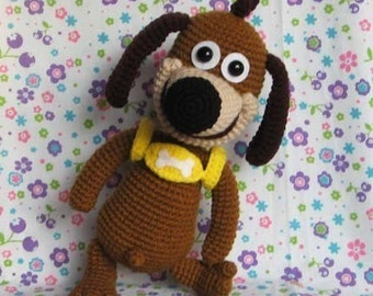 RUFFY super dog 12 inches - PDF crochet pattern