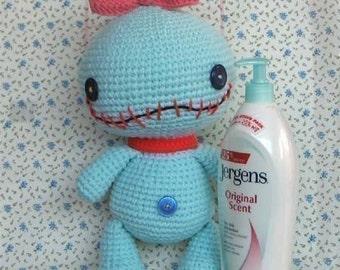 SCRUMP 12.5 inches - PDF amigurumi crochet pattern