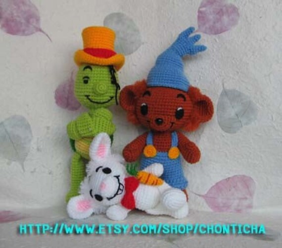 BAMSE and FRIENDS - PDF crochet pattern