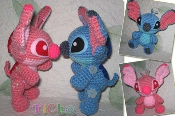 Amigurumi Loop Stitch : Stitch super cute - PDF amigurumi crochet pattern from ...