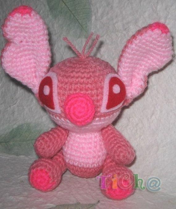 Stitch super cute - PDF amigurumi crochet pattern from ...
