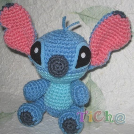 Stitch Amigurumi Doll Pattern : Stitch super cute - PDF amigurumi crochet pattern from ...