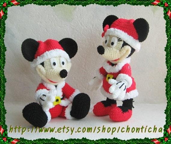 Patrones gratis amigurumi Mickey Mouse - Imagui