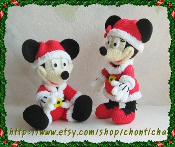 Crochet Pattern For Ninja Turtle Doll : Patrones gratis amigurumi Mickey Mouse - Imagui
