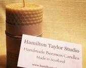 Beeswax Short Pillar Candle