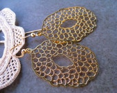 Lacey Gold Earrings