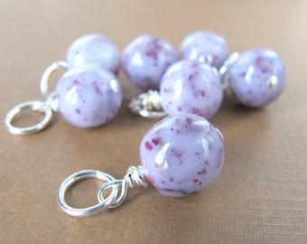 Sterling Silver Flower Petal Charm/ Wedding and Memorial Keepsake Jewelry