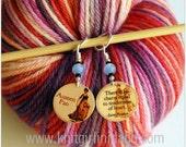 Jane Austen Emma Stitch Markers (Set of 2)
