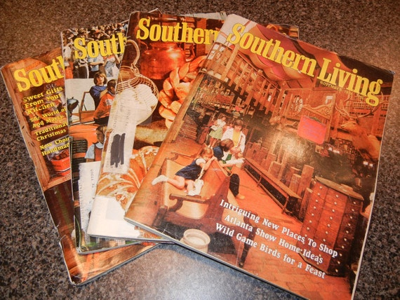 Southern Living Magazine Lot 1974, 1975 & 1976 Issues