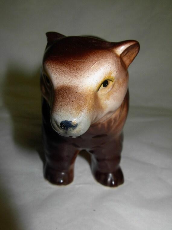 Brown Bear Vintage Ceramic, Made in Japan, Bradley Exclusives