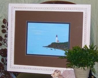 First Light - original framed painting