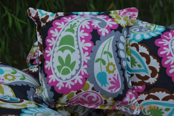Custom boutique roco beat paisley shopping cart cover for a for The beat boutique