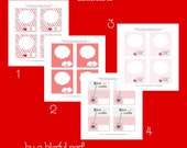 VALENTINES DAY Printable Cards - Printable Valentines Notes - By A Blissful Nest