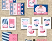 Sweet Shoppe Sugar And Spice Party Decorations - PRINTABLE - Package Collection - By A Blissful Nest