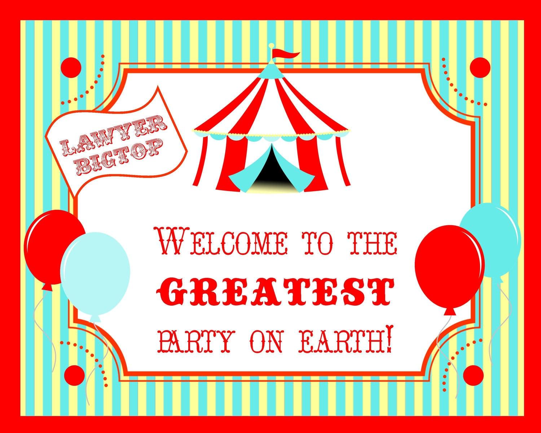 Carnival Tent Border Circus carnival big top