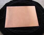 5 Copper Sheets, 4 1/4 x 5 1/2,  Sheet Metal 20 guage