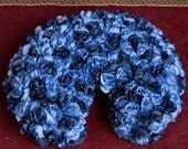 Blue Rose Flower Baby Poser Cover Photo Props