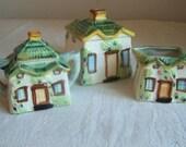 Vintage Cottage 3 Piece Set Made in Japan