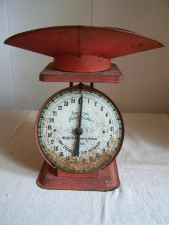 Vintage American Family Scale 1906 Model