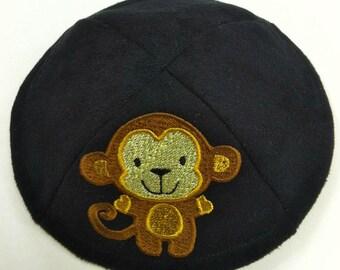 Custom Embroidered Yarmulke Kippah