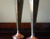 Sheffield England Copper Vases