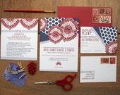 Josephine Wedding Invitation Suite