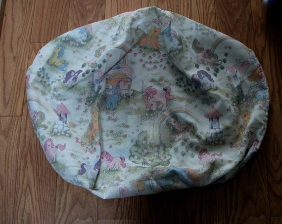 My Little Pony beanbag, 1984 vintage, as new condition, collectable pillow, extremely rare retro, kitch or kawaii