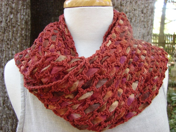 the old red maple in the back yard woven scarf