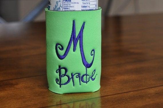 Personalized-Monogrammed Wedding Drink Cooler