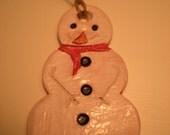 basic snowman ornament