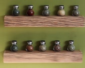 Rustic Floating Shelf (Spice Rack)