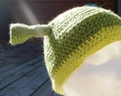 GREEN OGRE - Shrek inspired wool  winter hat