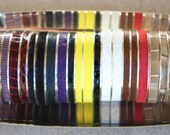 Leather Bangle Bracelet Snakeskin- Buy More and Save - Any 4 In Stock