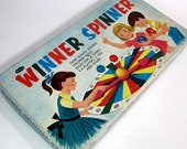 Whitman's Winner Spinner Game 1959 / 2 Games in 1 / Complete