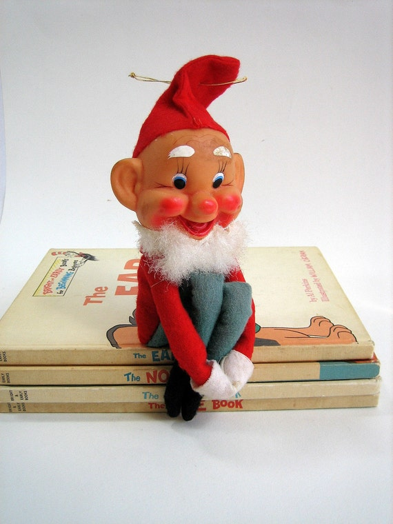Vintage Elf On The Shelf By Attyssproutvintage On Etsy