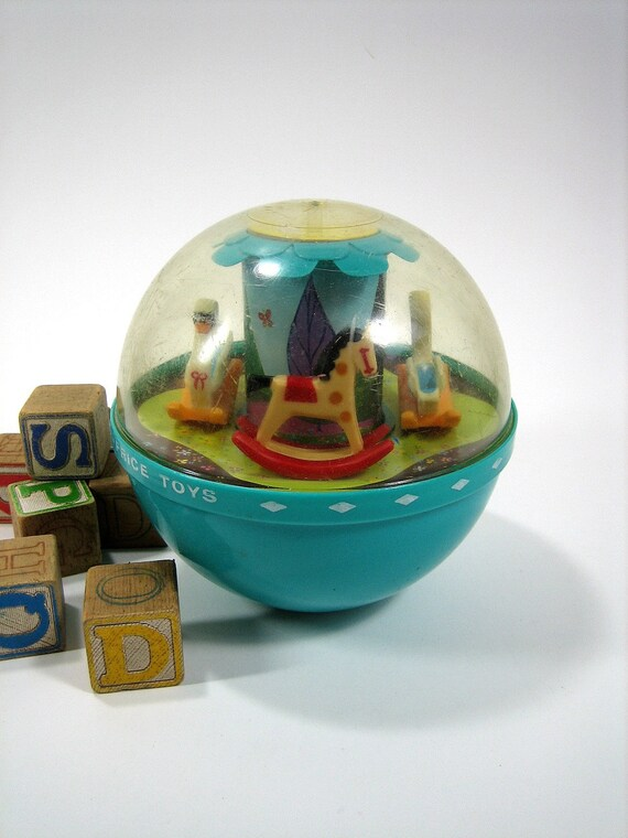 Fisher Price Roly Poly Chime Ball 60s
